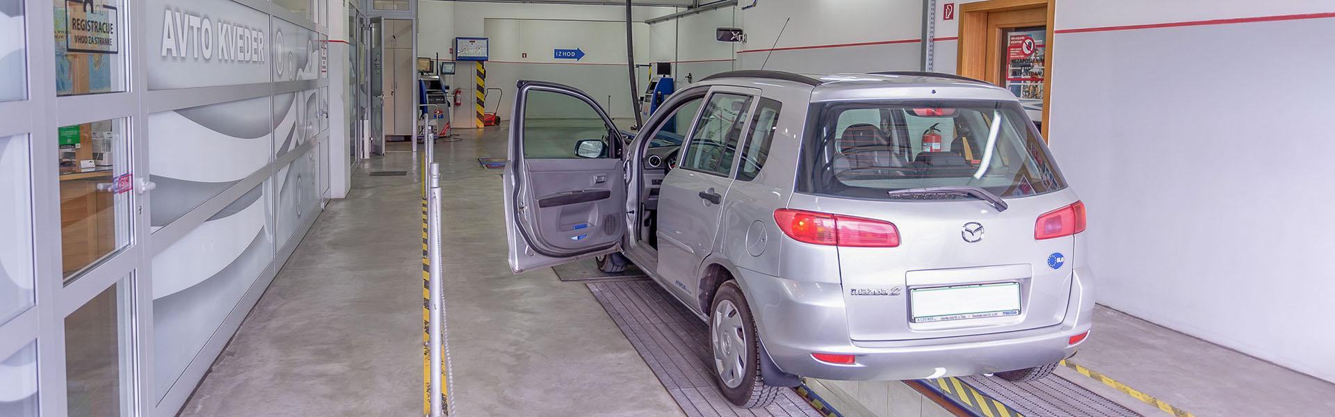 Avto KVEDER - Tehnični pregledi